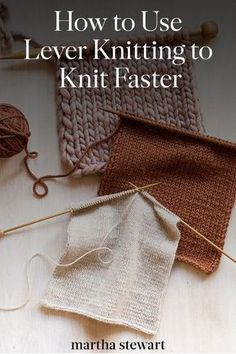 Why Lever Knitting is the Fastest Method in the World Bound to become one of your favorites is lever knitting, also known as the Irish cottage style, which has the reputation as being the fastest knitting in the world. It's quick, efficient, and quit Knitting Terms, Easy Knitting, Knitting For Beginners, Knitting Stitches, Knitting Patterns Free, Knit Patterns, Knitting Tutorials, Knitting Ideas, Sock Knitting