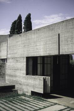 Tomba Brion, San Vito d'Altivole, Italy. 1969-78. Carlo Scarpa