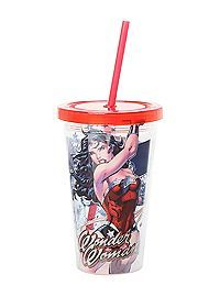 HOTTOPIC.COM - DC Comics Wonder Woman Acrylic Travel Cup