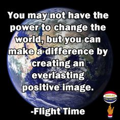 Make a difference in the world.  Advice from Flight Time. Learn more about Flight Time and his Harlem Globetrotter teammates.