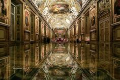 Appolo Gallery at the Louvre...  (Built in 1661)
