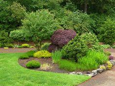 landscaping driveway entrances | Edging Planting Beds Pic #19
