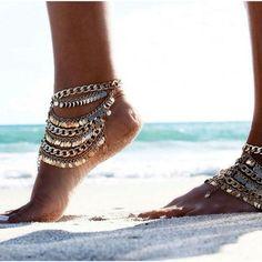 Shop dixi. Foot jewellery.