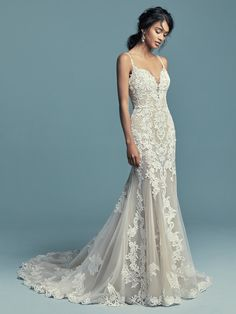 Maggie Sottero Wedding Dress ABBIE-MARIE 8MC748 Main