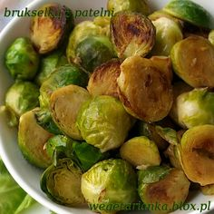 brukselka z patelni w musztardzie Vegetarian Recipes, Snack Recipes, Cooking Recipes, Healthy Recipes, Snacks, Good Food, Yummy Food, Tasty, Cauliflower Vegetable