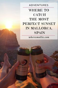 I have had so many people ask where to find the little spot on which we watched the sun set in Mallorca, and it's really no big secret! {...