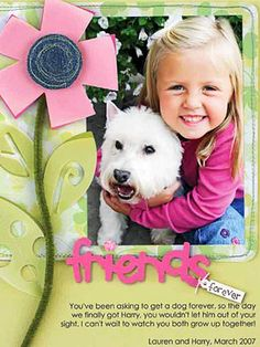 Friends Forever Dog Layout