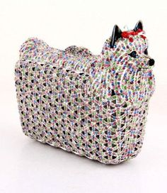Animal Shape Luxury Party Crystal Bags Women Diamond Evening Clutches Purse  Wedding Prom Clutch Bag Ladies Small Dog Handbags 44c4586cd017d