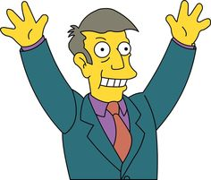 Seymour Skinner 01 Simpsons by frasier-and-niles on DeviantArt Seymour Skinner, Simpsons Costumes, Simpsons Characters, Fictional Characters, The Simpsons Show, Cartoon N, Tv Funny, Dysfunctional Family, Disney Characters