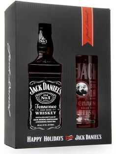A top-selling bottling from the Jack Daniel distillery, the mashbill is made up of 80% corn, 12% rye and 8% malt. The spirit is filtered through 10 feet of sugar maple charcoal to produce a mellow, slightly smoky character, thus making it Tennessee whiskey. The gift set includes a shot glass, and a rock glass