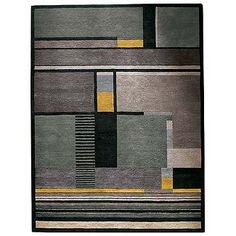 Bauhaus  One of my favorite rugs.  Stölzl Plate 106.  Design Within Reach.