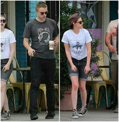 RobstenMonster: Kristen's legs are wonky just like Rob's feet. :) <3