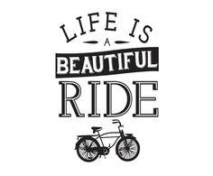 Adesivo Beautiful Ride - 40X55cm | Westwing - Casa & Decoração