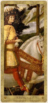 Medici Tarot By Londa R. Marks, at WorldOfTarot.com Tarot Card Decks, Tarot Cards, Tarot Major Arcana, Oracle Cards, Occult, Astrology, Medieval, Playing Cards, Sun