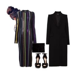 """""""Untitled #232"""" by alla-moda on Polyvore featuring Miss Selfridge, Nina Ricci and Alexander McQueen"""