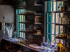 Thomas Edison's lab...what a dream this would be for our son. OK..and me too :)