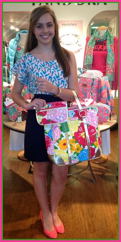 Lilly Pulitzer is turning 81! Let's celebrate the queen of pink and green with free gifts for you!