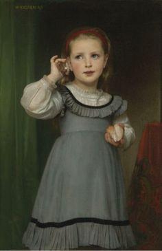 Le Bruit de la Mer', William-Adolphe Bouguereau, 1871