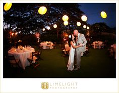 A preview of the reception site - Four Seasons Resort Hualalai Weddings