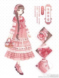 Love Nikki-Dress UP Queen. Come to play Love Nikki, a dressing up. Manga Anime, Anime Chibi, Manga Girl, Anime Art, Art Kawaii, Kawaii Girl, Character Inspiration, Character Design, Character Art