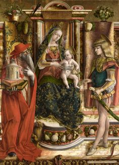 Carlo CRIVELLI La Madonna della Rondine