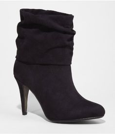 Slouchy Heel Booties from Express