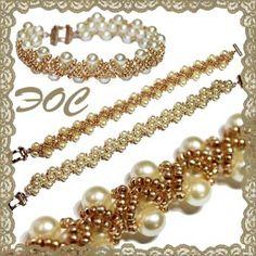 Gorgeous Bracelet! Simple pattern for beginners...