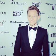 Tom Hiddleston at Only Lovers Left Alive world premiere party by Liberatum and Montblanc