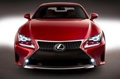 2015 Lexus RC Front View 2015 Lexus RC 350 and RC 300h