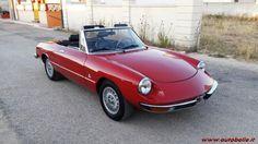 Alfa Romeo Spider Duetto 2000 cc coda tronca veloc