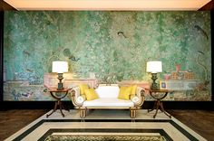 William Haines Interior Design - 1966 Home of oil tycoon Eddie Chiles and wife Fran, photo Trey Freeze