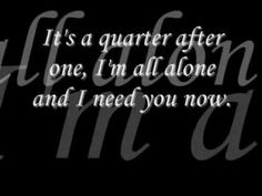 Need You Now by Lady Antebellum [[LYRICS ON SCREEN]]  My granddaughters and I sing this all the time in the car together!