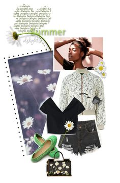 """""""Summer Delight..Happy Friday!!!!"""" by shortyluv718 ❤ liked on Polyvore featuring Jean-Paul Gaultier, Ollio, Chicwish and Dolce&Gabbana"""