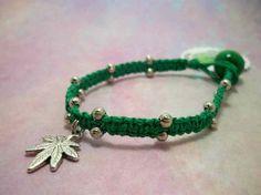 Green #MaryJane #Hemp #Bracelet 1756 by #HemptressDesigns on Etsy, $7.00 hemptressdesigns.com