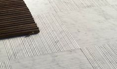 Floor tile / marble BAMBOO : WHITE CARRARA Alfredo Salvatori