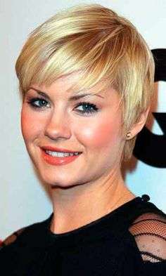 2013 Best Short Hairstyles for Women  http://janelistyle.com #hairstyle #hairstyleideas #shorthair #shorthaircut #shorthairstyle