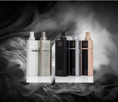 Joyetech Cuboid Mini Starter Kit Joyetech again brings another unique kit to the market with their Cuboid Mini Kit. This kit comes with the Cubis Tank employing the Notch coil as seen in the Theorem as well as a capacity for 5ml of e-liquid. The Cubis Tank fits square on the Cuboid mod giving this kit a sleek and unique look. The OLED screen and built-in 2400mAh internal battery with upgradeable firmware make this unit extremely user friendly and easy to operate. Additionally, this more…