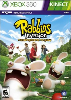 New Age Mama: Holiday Gift Guide - Rabbids Invasion: The Interactive TV SHOW for XBox 360
