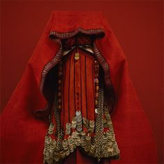 Kimiko Yoshida- The Red Palestinian Bride, early XXth Century, self-portrait
