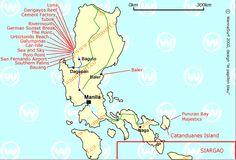 map surf spots, luzon, philippines