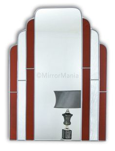 Boston Original Handcrafted Art Deco Wall Mirror - Art Deco - Mirrors