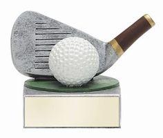 Golf Color Tek Figure Award
