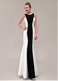 Chic Stretch Satin Bateau Neckline Floor-length Sheath Prom Dress. Get superb discounts up to 60% Off at Dressilyme with Coupon and Promo Codes.