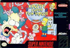 Krusty's Super Fun House (Super Nintendo Entertainment System, 1992)