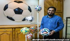 After a long time, Pakistan Forward Sports (Pvt) Ltd has got the agreement of providing footballs in the FIFA World Cup 2014 which is going to be organised in Brazil this summer. Khwaja Masood Akhtar, owner and CEO of Forward Sports said that it was the lengthy goal for us which we got after many years. WorldFootballTicketExchange.com is a dedicated tickets exchange where you can buy or sell World Cup 2014 Tickets at the great price.