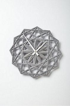 14 Wall Clocks That Make Us Tick: Stella Clock ($158)