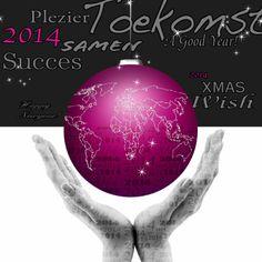 Kerstkaarten - kerstkaart wereld 2014 a