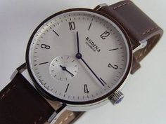 Huge fan of this watch.  Bauhaus design.  Knock off of Stowa and Monos.  Great choice for the price conscious.