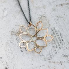 14k Gold Necklace  Delicate 14k Gold Necklace  Solid by moiraklime, $128.00