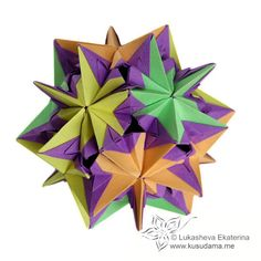 Kusudama Me! - Modular Origami Andromeda unit